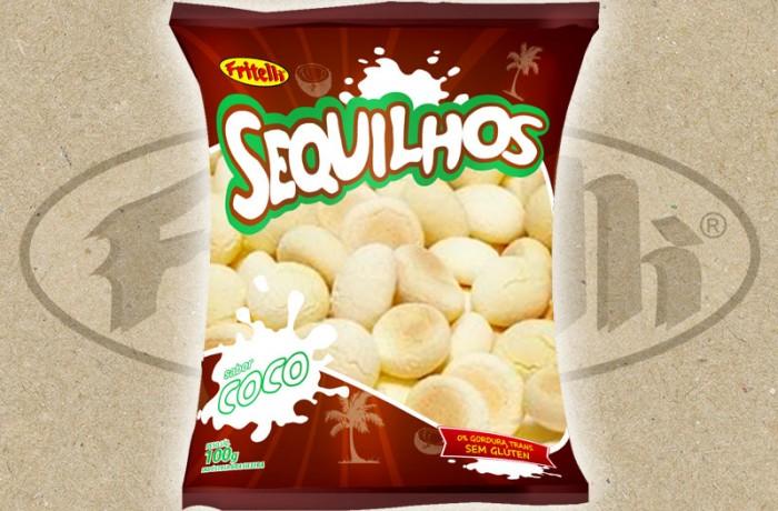 Sequilhos Fritelli Coco – 100g / 200g