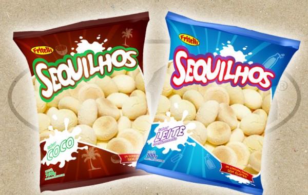 Sequilhos Fritelli (leite condensado e coco)